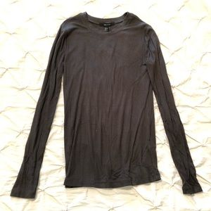 Forever 21 ribbed long sleeve